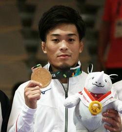2002年大会から続く金メダルの伝統を守った太田忍=撮影・布施鋼治