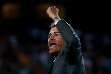 スペイン代表監督のエンリケ photo/Getty Images