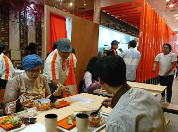 Japanese restaurant chain Yoshinoya opens its first udon shop in Indonesia