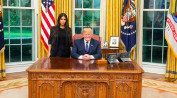 Kim Kardashian Meets With President Trump About Criminal Justice Reform