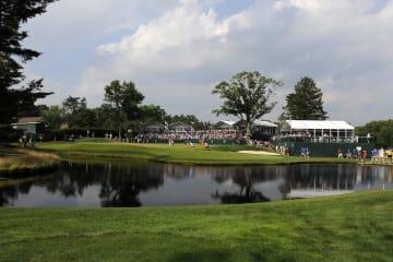 AT&Tナショナルが2011年に開かれた当時のアロニミンクGC Photo by Stan Badz/PGA TOUR