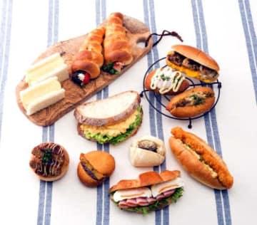 あじかんがパン店に紹介しているメニューの例