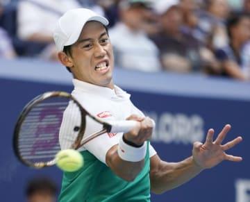 Tennis: Nishikori at U.S. Open