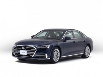 Audi A8。(画像:アウディジャパン発表資料より)
