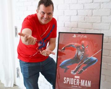 自身もスパイダーマンの大ファンだというジェームズ・スティーヴンソン氏