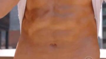John Krasinski's abs