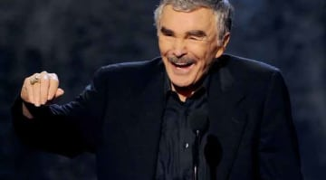 CULVER CITY, CA - JUNE 08: Actor Burt Reynolds accepts award onstage during Spike TV's Guys Choice 2013 at Sony Pictures Studios on June 8, 2013 in Culver City, California. (Photo by Kevin Winter/Getty Images for Spike TV)