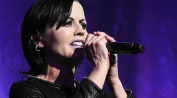 The Cranberries singer Dolores ORiordan
