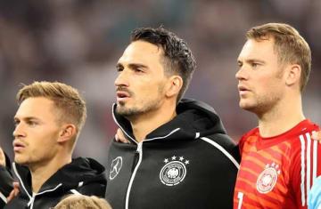 再出発するドイツ代表 photo/Getty Images