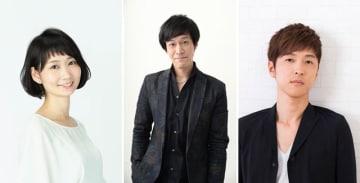 ▲左から植田千尋さん、小山力也さん、櫻井孝宏さん