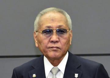 山根明・前日本ボクシング連盟会長=8月8日
