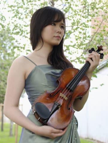 ヨハネス・ブラームス国際コンクールのバイオリン部門で2位になった西山舞音さん(共同)