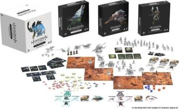 公式ボードゲーム版『Horizon Zero Dawn』2億円以上を調達しKickstarter終了!各種ストレッチゴール全達成