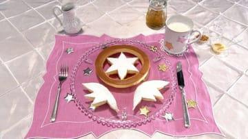 """「グレーテルのかまど」の「""""カードキャプターさくら""""のホットケーキ」の一場面=NHK提供"""