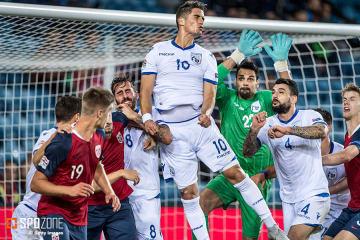 リーグCグループ3、ノルウェー代表とキプロス代表戦にて