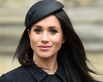 9月5日、米ピープル誌が発表した2018年の女性ベストドレッサーに、英国のヘンリー王子と5月に結婚したメーガン妃(37)が選ばれた。写真は4月代表撮影 - (2018年 ロイター/Eddie Mulholland)