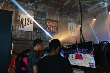 『NBA 2K19』ローンチイベントin NY!ホントの試合/映画のようなハンズオン【日本独占】