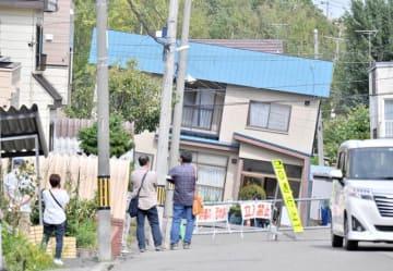 北海道 地震 液状化 札幌市 清田区 札幌 被災 災害 被災者 避難
