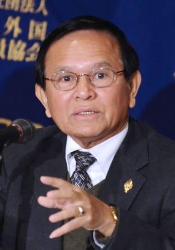 カンボジア救国党のケム・ソカ党首