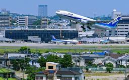 関西空港が台風21号で被害を受けたことで、国際線の受け入れ要請を受けた大阪(伊丹)空港