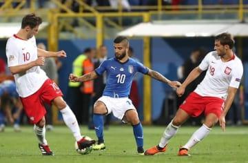 ポーランドと戦った若きイタリア代表 photo/Getty Images