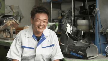 中島博光さん (シート製作職人)
