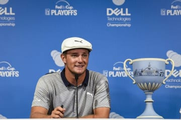 ブライソン・デシャンボーにとって、シーズン王者よりライダーカップ米国代表選手入りが高い目標のようだ Photo by Keyur Khamar/PGA TOUR