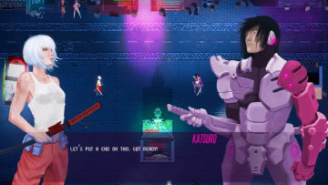 女サムライが刀でヤクザをぶった斬るサイバーパンクACT『AKANE』Steam配信開始!