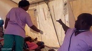コレラ患者は1日25リットルもの水分を失うこともある