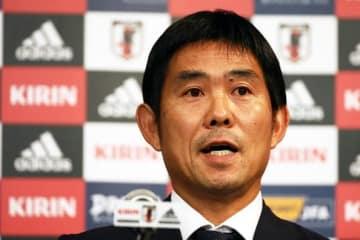 日本代表を指揮する森保一監督 photo/Getty Images