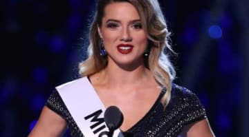 Miss Michigan Emily Sioma addresses Flint water crisis at Miss America 2019 pageant