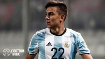 アルゼンチン代表ディバラ、ブラジル戦で負傷も今週末のリーグ戦出場は?