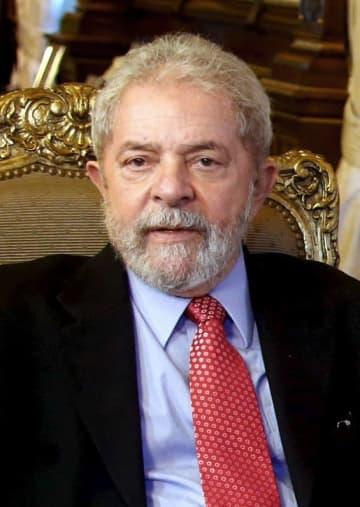 元ブラジル大統領のルラ被告(ロイター=共同)