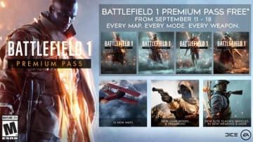 『バトルフィールド1』プレミアムパスの期間限定無料配信が開始!PS4/Xbox One/PC全機種にて実施