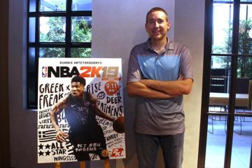 """テーマは""""バスケと共に歩む人生""""?『NBA 2K19』シニアプロデューサー エリック・ベニッシュ氏が想いを語る"""