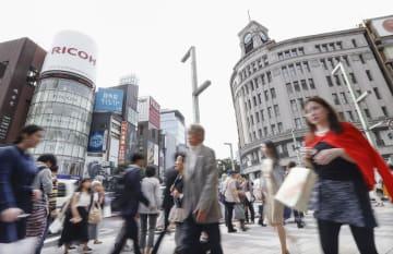 資料  Tokyo's Ginza district on May 16, 2018      2018051601151
