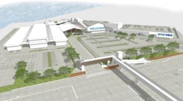 ブランチ横浜南部市場の完成イメージ(大和リース発表資料より)