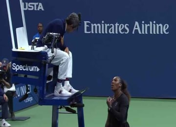 U.S. Open umpire speaks out after Serena Williams dispute