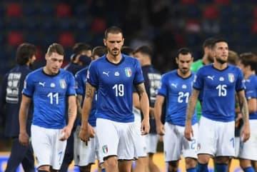 結果が出ていないイタリア代表 photo/Getty Images