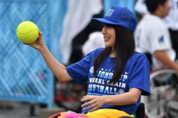 大宮第二公園多目的広場で第4回ライオンズカップ車椅子ソフトボール大会が行われた【写真:武山智史】
