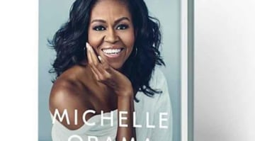 Michelle Obama Releases Cover For Memoir 'Becoming' [PHOTOS]