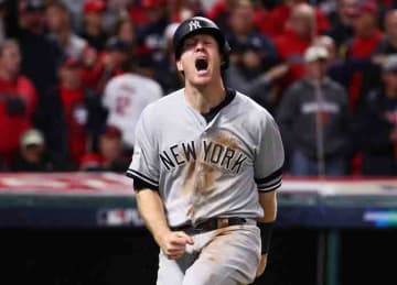 Yankees beat Indians 5-2 in ALDS Game 5