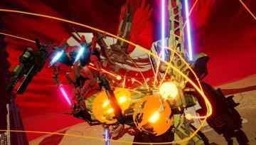 新作ロボACT『デモンエクスマキナ』道路標識でさえも武器にするゲームプレイ披露