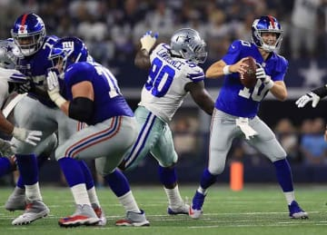 Giants lose to Cowboys 19-3 in season opener