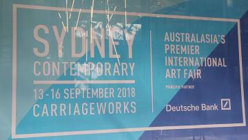 【字幕あり】シドニーで現代アートフェア開催 中国人芸術家の作品も登場