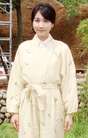 連続ドラマ「この世界の片隅に」でヒロインのすずを演じた松本穂香さん