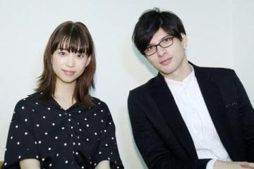 連続ドラマ「文学処女」でダブル主演を務める森川葵さん(左)、城田優さん