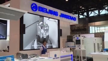 中国企業、国際工作機械見本市でビジネスチャンスを模索