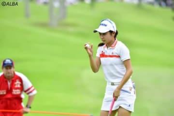 安田祐香、女王・鈴木愛とのラウンドは大きな経験となった(撮影:上山敬太)
