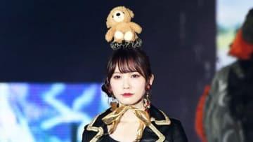 ファッション&音楽イベント「Rakuten GirlsAward 2018 AUTUMN/WINTER」に登場した「けやき坂46」の加藤史帆さん